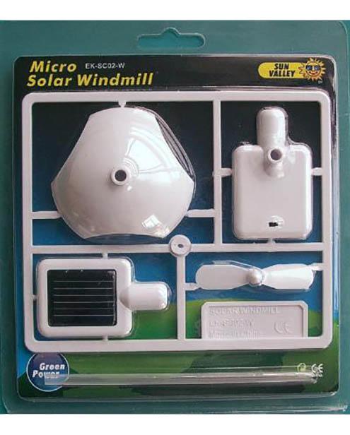 Micro Solar Windmill